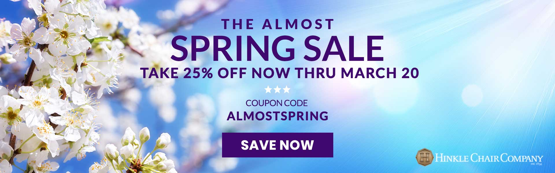Almost Spring Sale