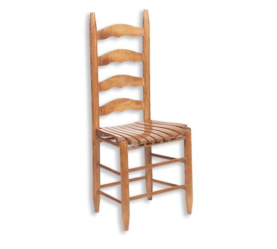 500S Slat Seat Dining Chair