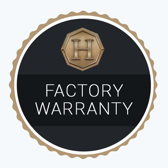 Hinkle Factory Warranty Badge